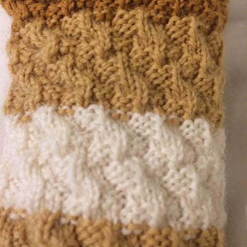 1846 Corkscrew Muffatee - Stitch Detail