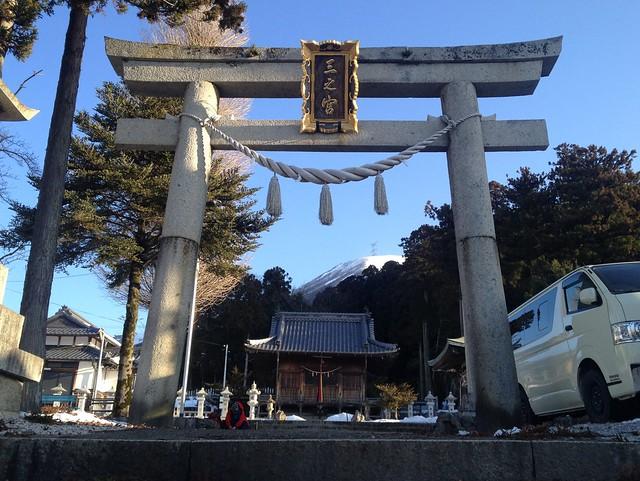 伊吹山 三之宮神社