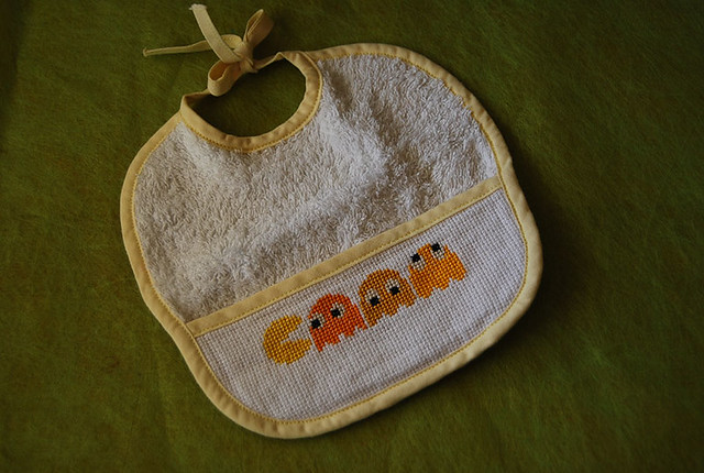 baby pacman cross stitch
