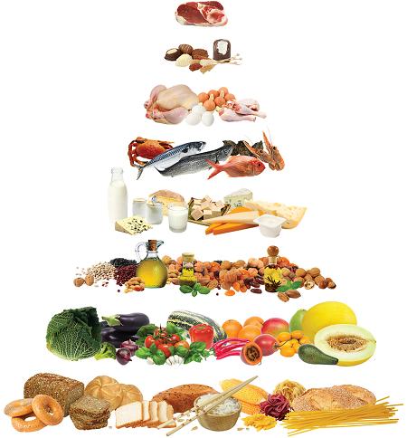 Tháp dinh dưỡng Địa Trung Hải