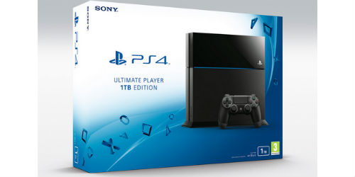 1TB PlayStation 4 available from July in Europe