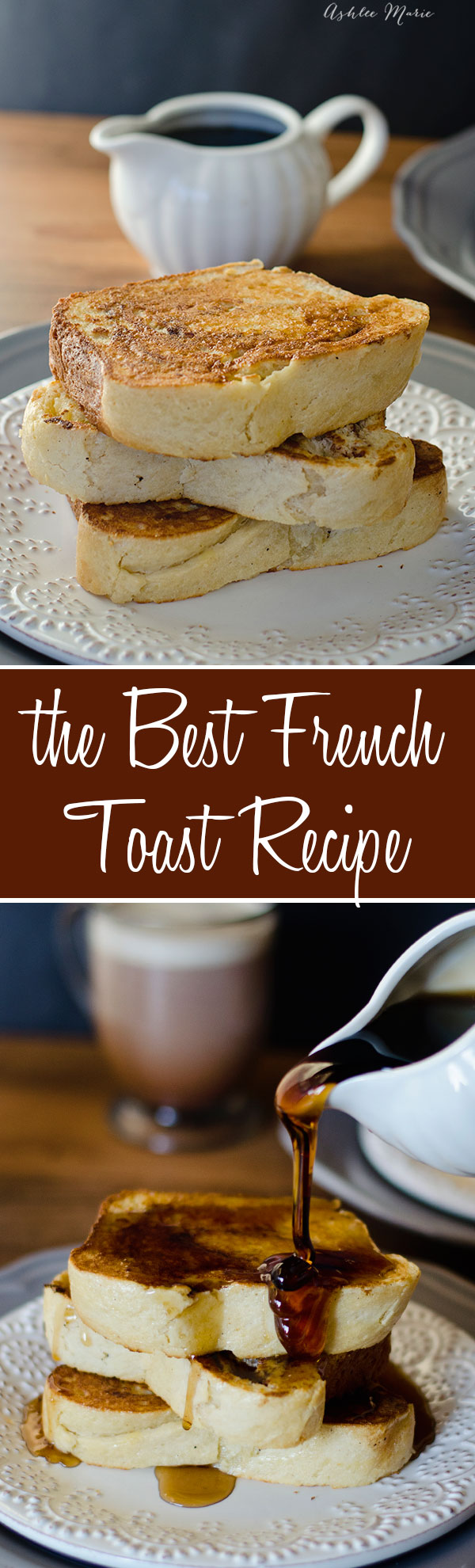 A super easy recipe for the best french toast ever.  Great flavor and works with all types of bread