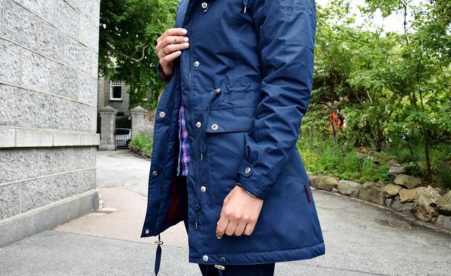 Target Dry jacket Festival look