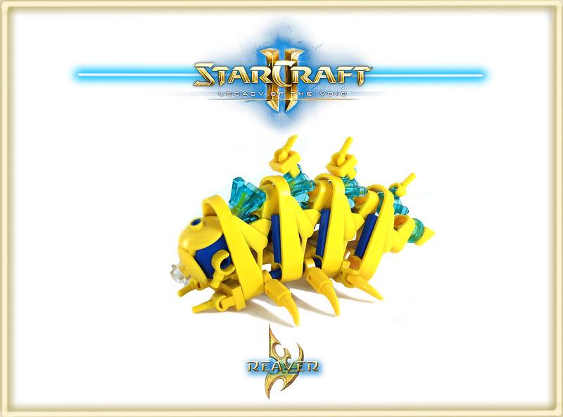 Massive LEGO Starcraft II MOC 19126387102_93689a0ed7_c