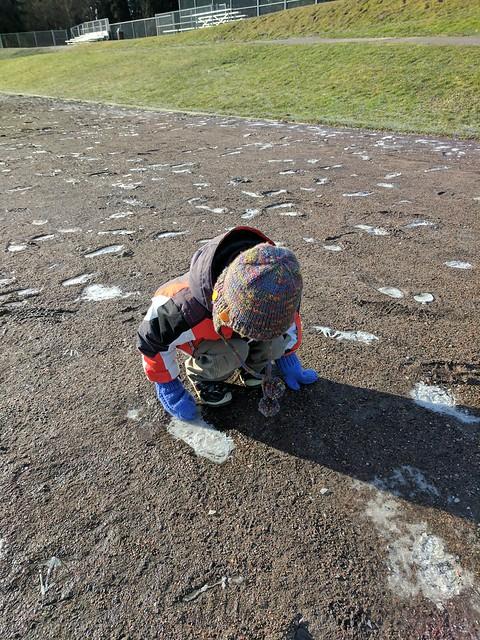 Exploring Ice Footprint