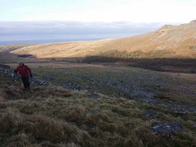 West Okement Valley near Slipper Stones