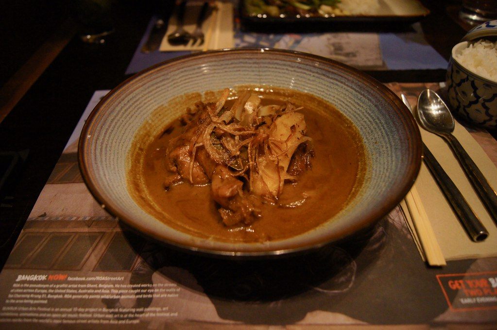 #datenight at the Printworks - Mussaman Duck