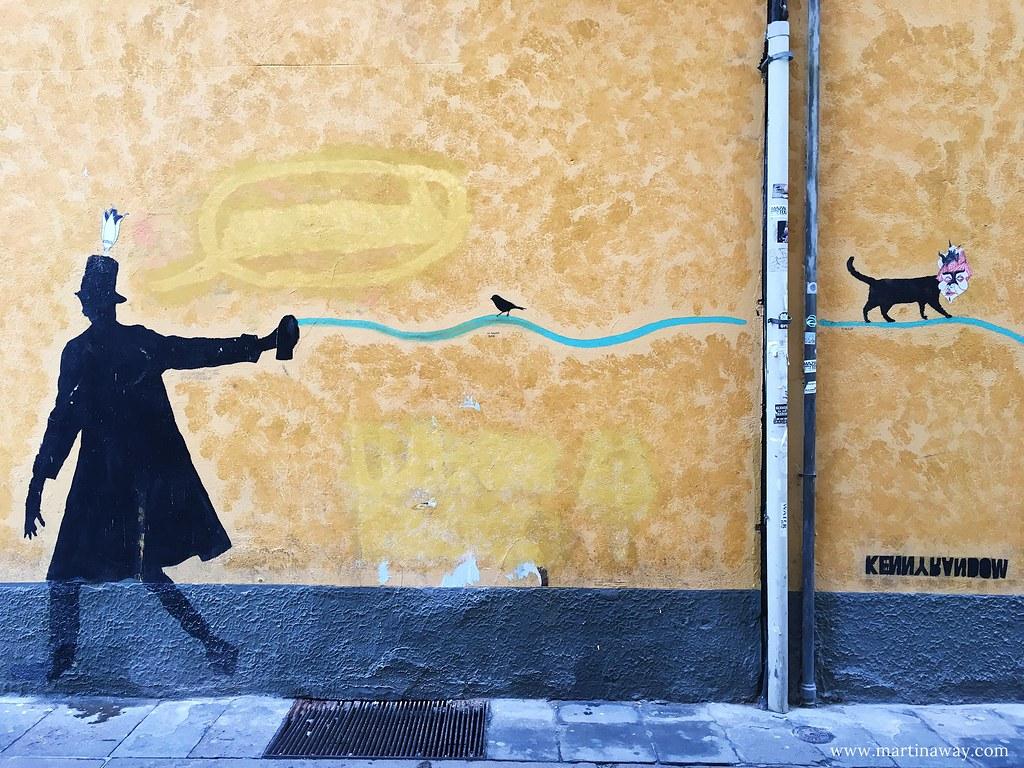 Street art by Kenny Random