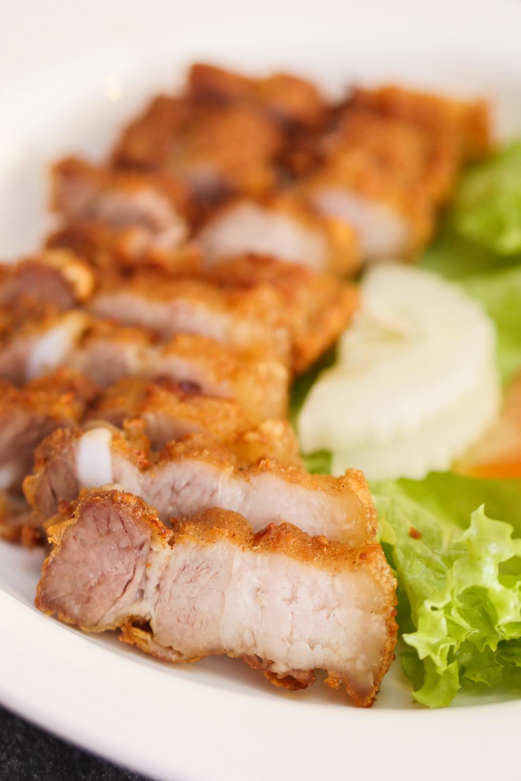 Deep Fried Pork Neck