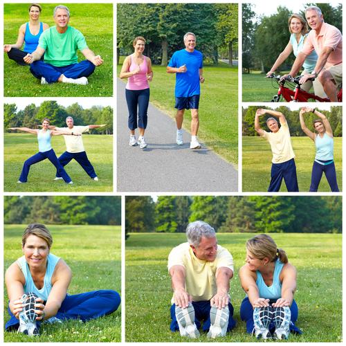 Tập thể dục nhẹ nhàng giúp giảm huyết áp