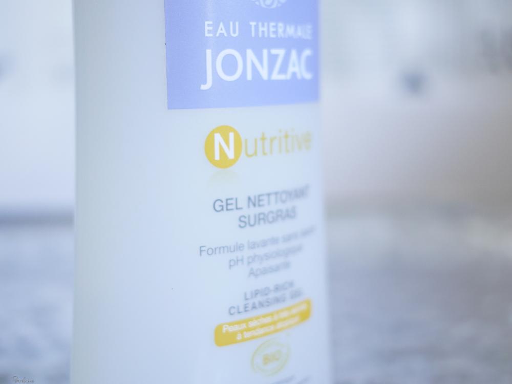 jonzac nutritive gel lavant