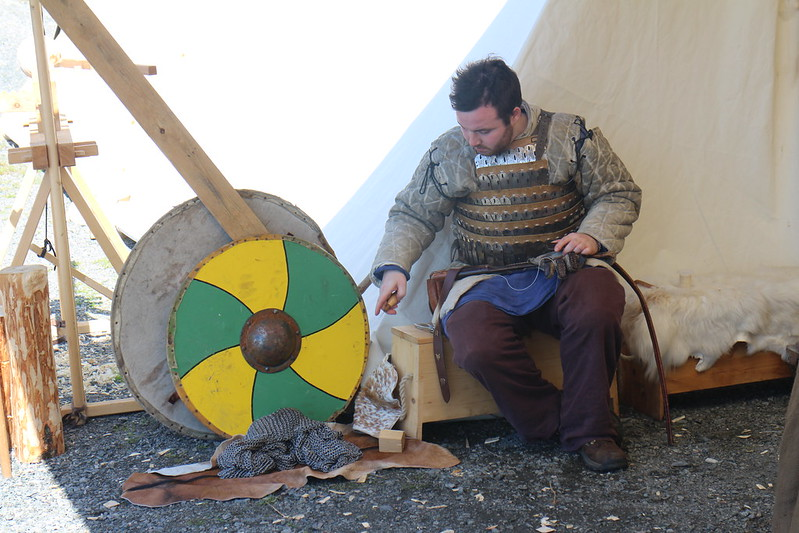 Viking and medieval festival