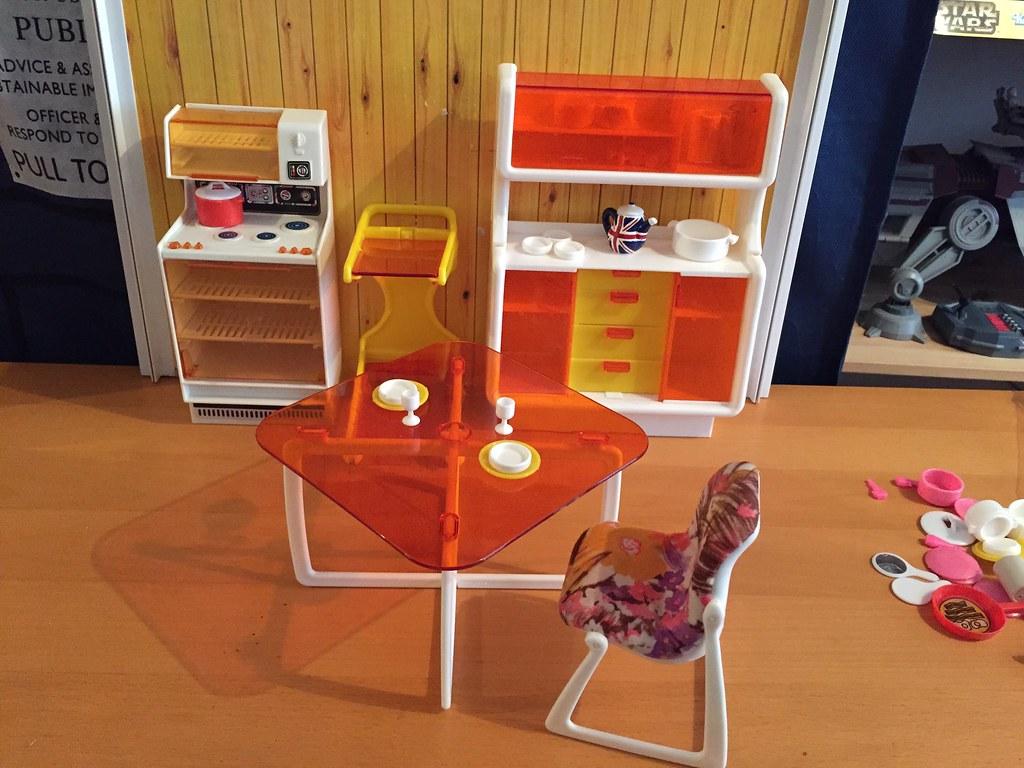 Beau ... 70s Barbie Dream Furniture   European Style | By Gibbspaulus