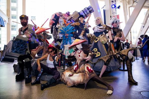 San Diego Comic-Con 2015 Cosplay - Battleborn