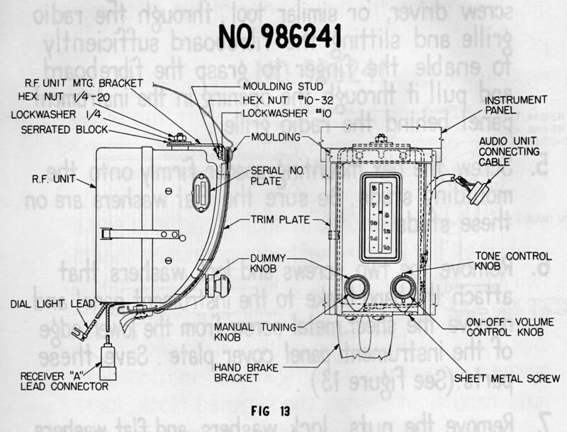 stock 1950 radio - chevytalk
