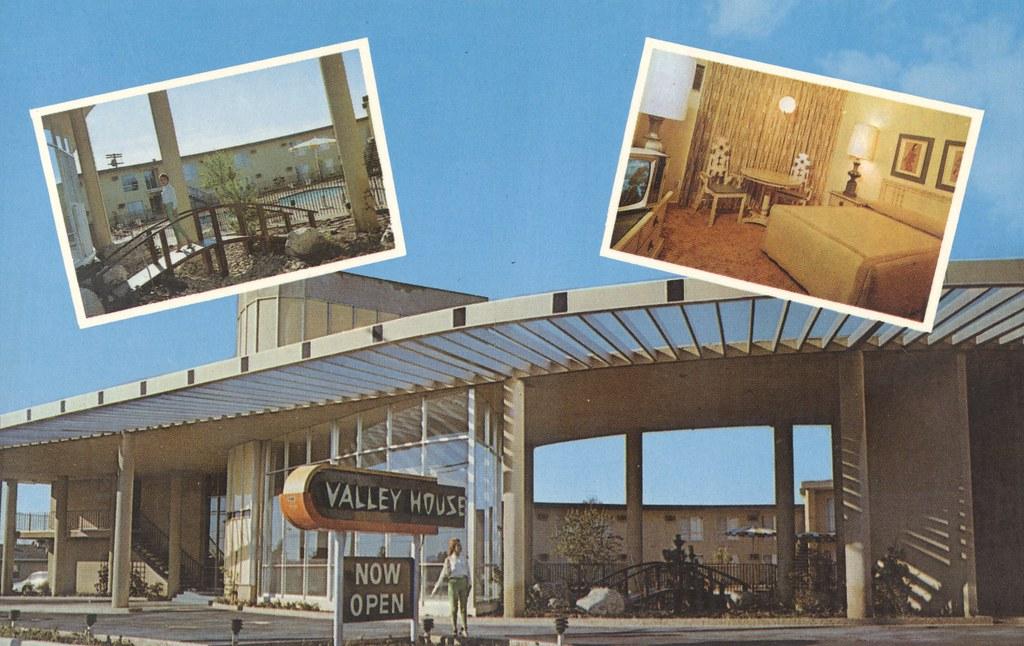 Valley House Motor Hotel - Sepulveda, California