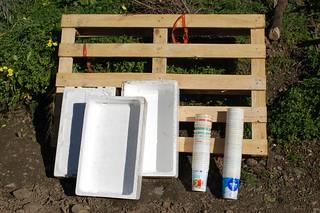Materiales de reciclaje recuperación