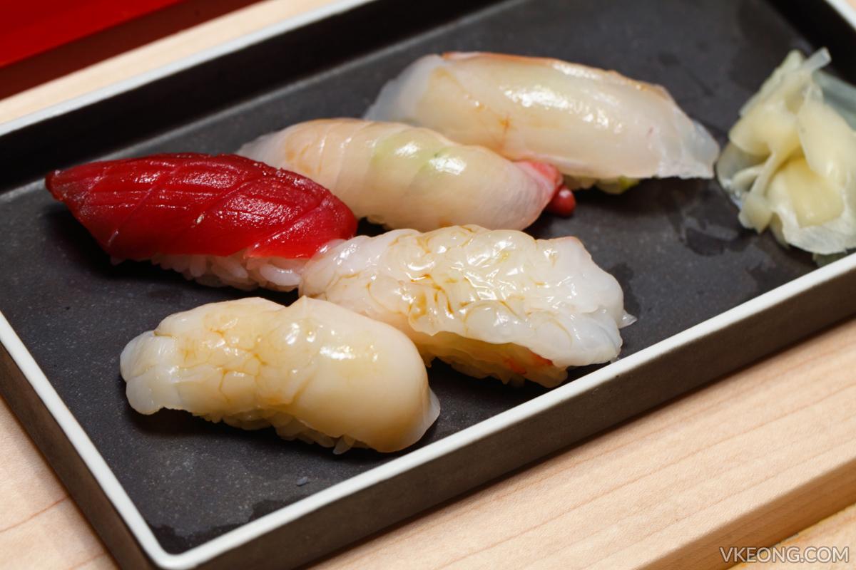 Sushi Azabu Isetan KL Nigiri