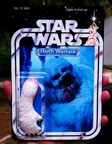 Custom Star Wars action figures by TD 5491 Phenix Customs - Hoth Wampa Arm
