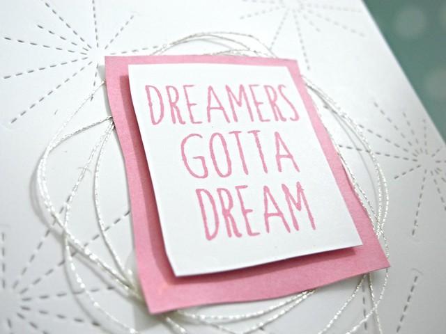 Dreamers Gotta Dream by Jennifer Ingle #justjingle #simonsaysstamp #ssscoloroffun #stamping #cards