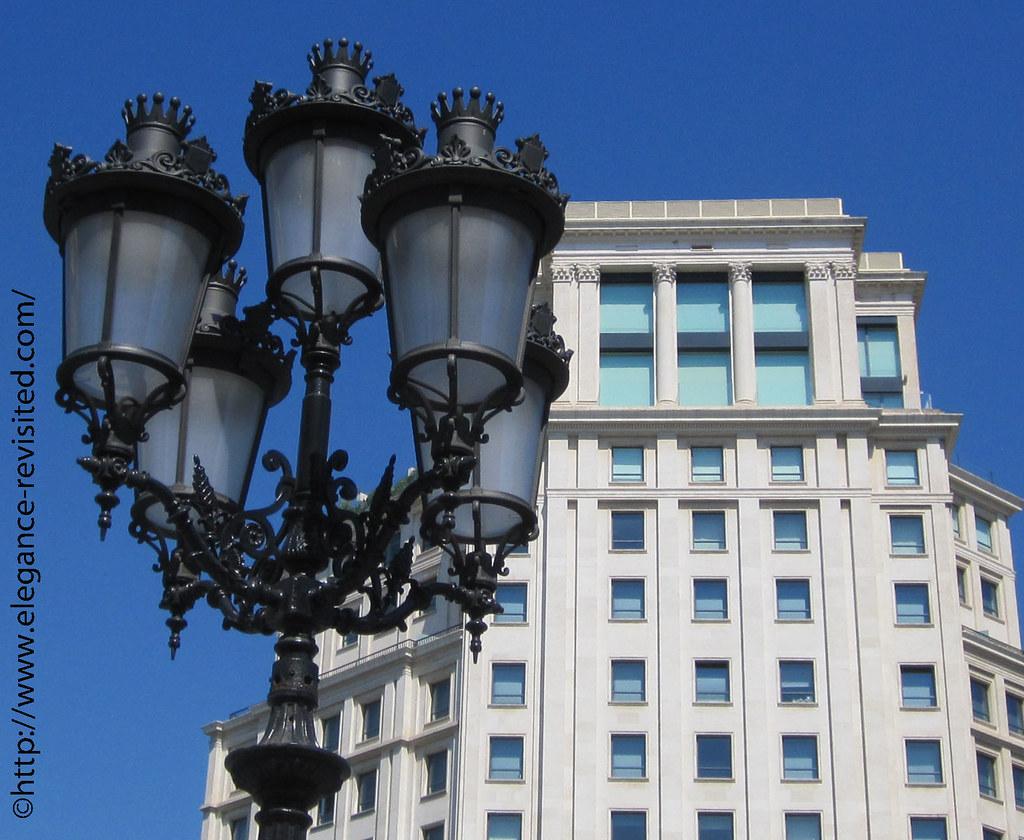 Barcelona streetlights