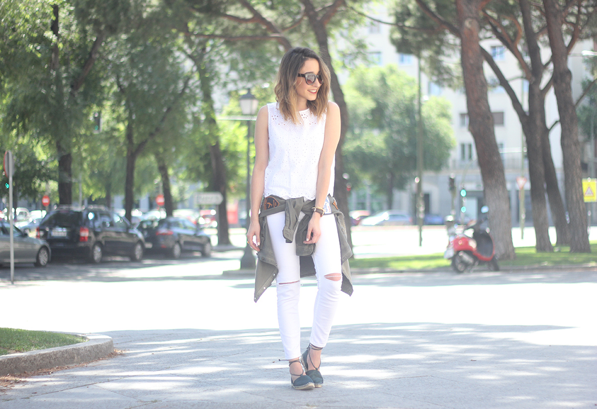 espadrilles with white outfit24