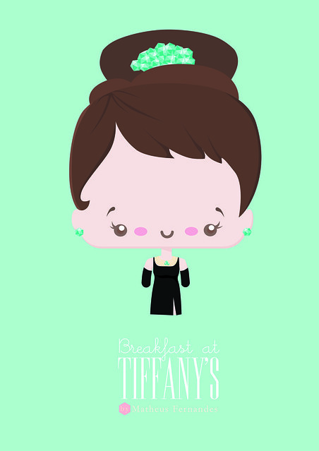 Poster Bonequinha de Luxo Ilustração Matheus Fernandes