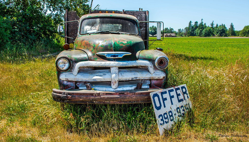 Old Chevy Truck for Sale | Whatcom County, Washington | Flickr
