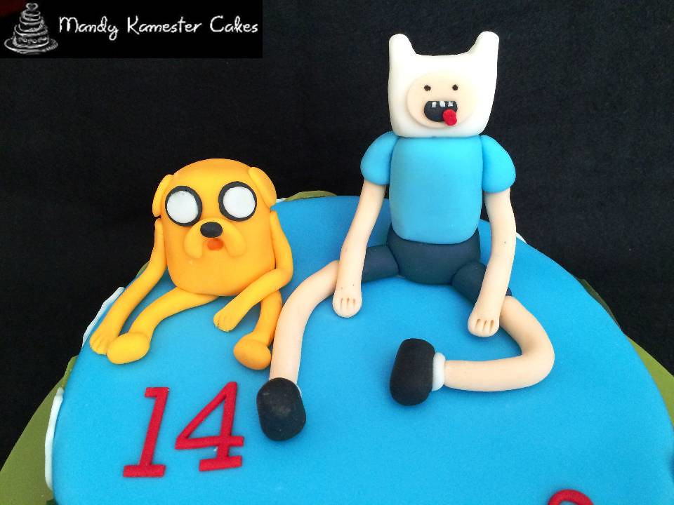 adventure time birthday cake finn and jake from adventure flickr