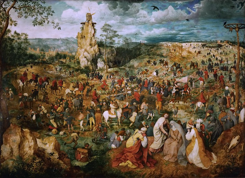 Jan Brueghel the Elder - The Procession to Calvary