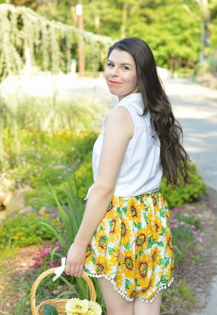sunflower romper 1