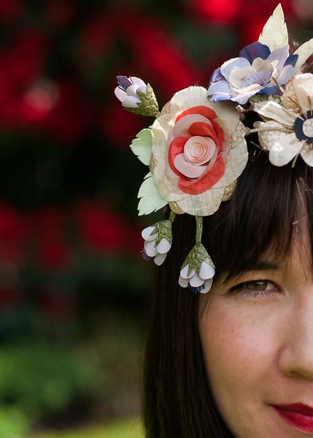 Paper Flowers - Artist Portrait of Tara Galuska