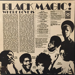 BLACK MAGIC!:WHERE LOVE IS(JACKET B)