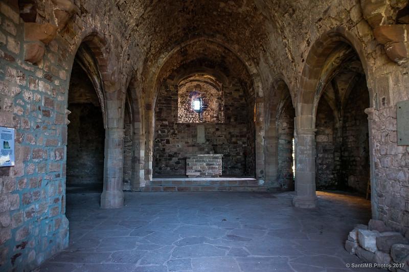 Interior de Santa Maria de Tagamanent