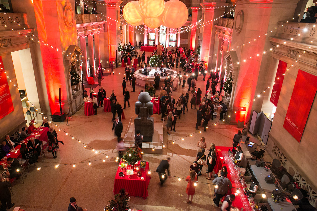 members holiday party 2016 by the metropolitan museum of art