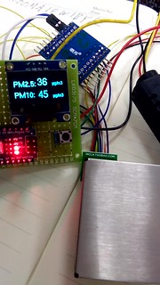 PM2.5 PM10 計測器 自作 Arduino