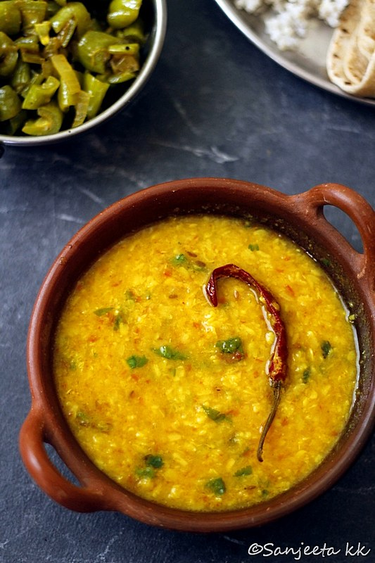 Recipe | Mixed lentil, vegetable curry and millet