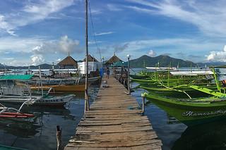 Coron - Coron town boat depot