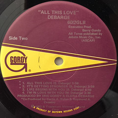 DEBRGE:ALL THIS LOVE(LABEL SIDE-B)