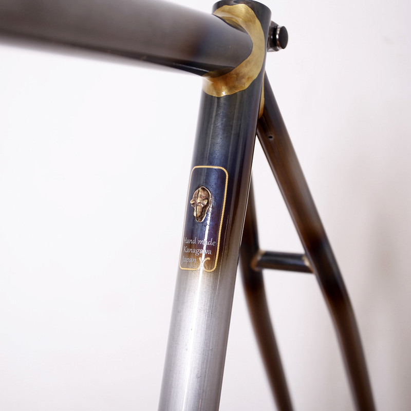 Handmade in Kanagawa JAPAN Steel Era Frame Painted by Swamp Things