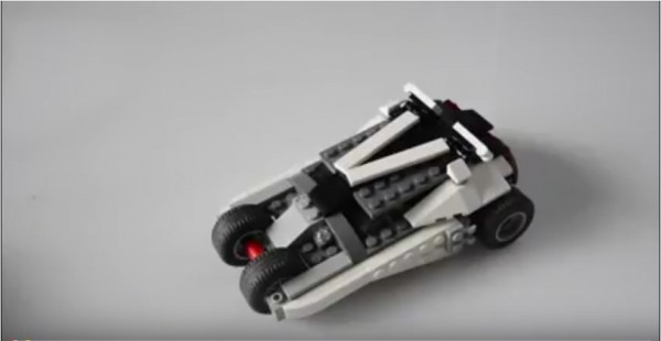 LEGO MOC Batman Tumbler from Lego Creator Fast Car (31046) kit
