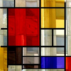 Playing again with Mondrian | by Christine Lebrasseur