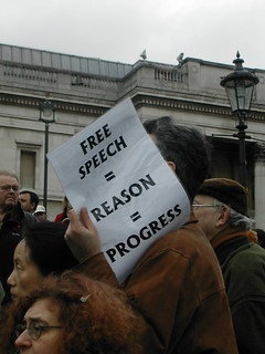 Free speech = reason = progress | by sjgibbs80