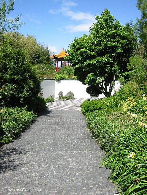Chinese gardens landscaping ideas for nz landscape desig for Chinese garden design