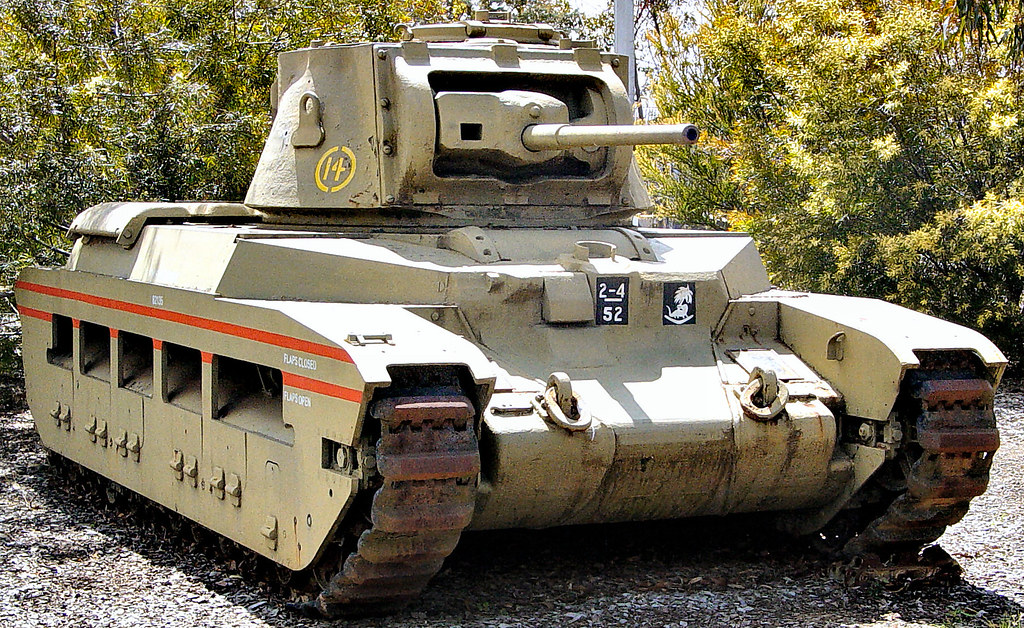 Armored Vehicles For Sale >> Matilda Tank | An Australian Matilda tank. At the start of ...