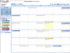 google calendar a screenshot of google 39 s new calendar rick hadley flickr. Black Bedroom Furniture Sets. Home Design Ideas
