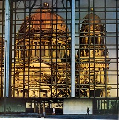 palast der republik reflects the berliner dom | by maximolly
