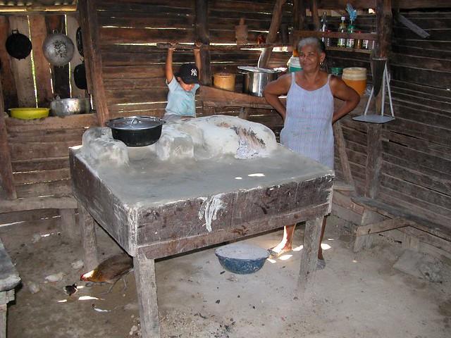 El campo fog n de cocina tradicional pascal pizzol for Parrilla para dentro de la casa