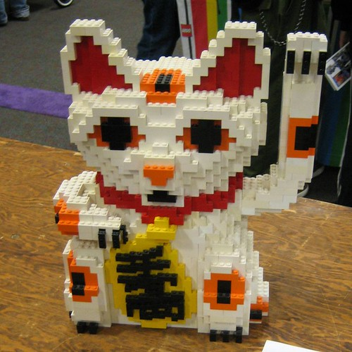 Lego Lucky Cat The Lego Lucky Cat Was In The Lego Room