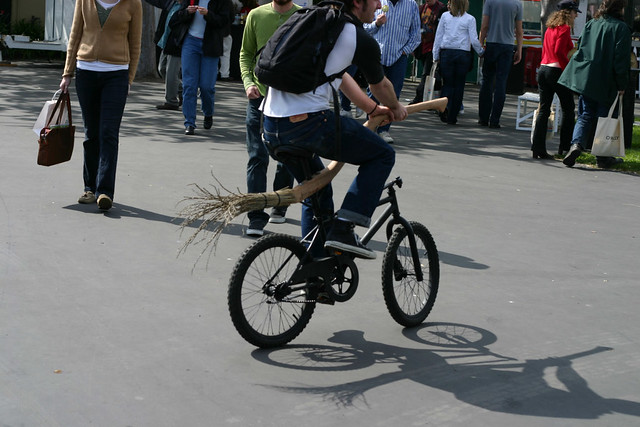 Harry Potter Bike Ken Conley Flickr